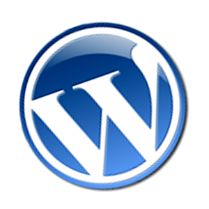 Logo WordPress 3D