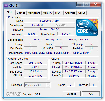 Software CPU Z